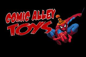 Comic Alley Toys logo, Oshawa