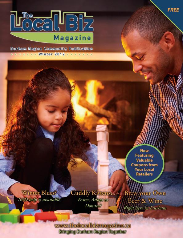 The Local Biz Magazine Cover Page - Winter 2012