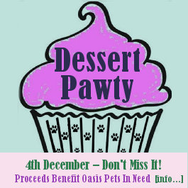 Dessert Pawty to Benefit Oasis, 4th December 2013, Greenwood Discovery Pavillion, Ajax