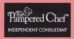 pamperedchef logo - independent consultant fundraising for oasis animal rescue